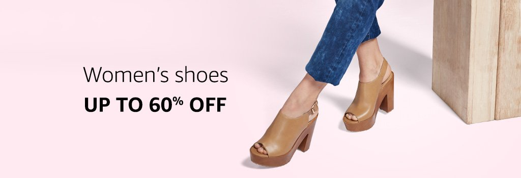 Women's Shoes: Up to 60% off