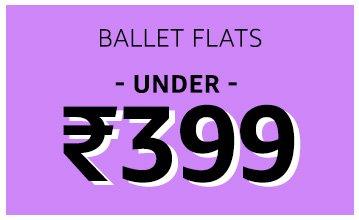 Ballet Flats: Under 399