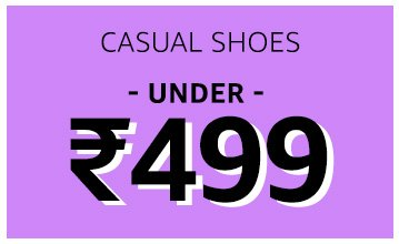Casual Shoes: Under 499