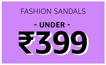 Fashion Sandals: Under 399