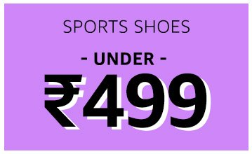 Sports Shoes: Under 499