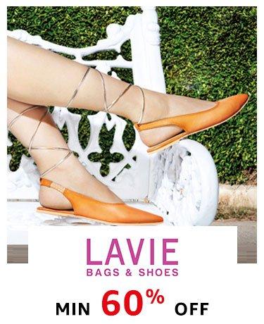 Lavie: Min 60% off