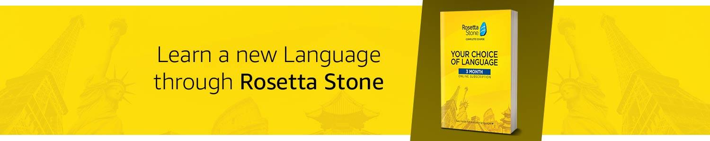 Learn a new language through Rosetta Stone