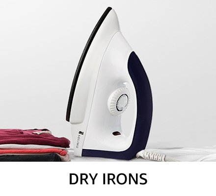 Dry irons