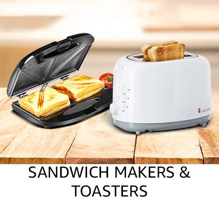 Sandwich makers & toasters