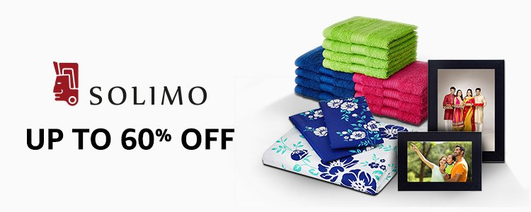 Up to 60% off: Solimo