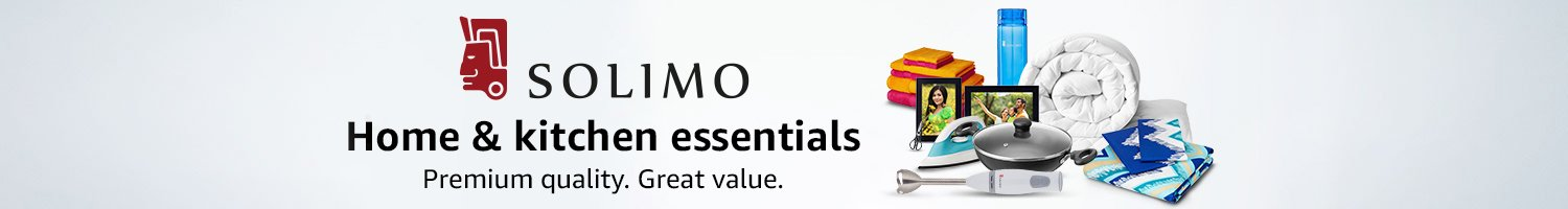 Home & kitchen essentials from Solimo