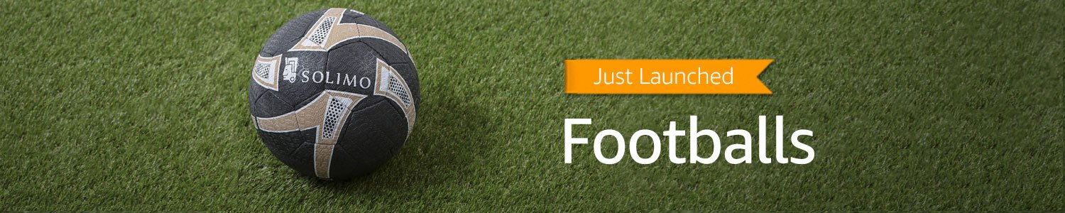 Just launched: Footballs