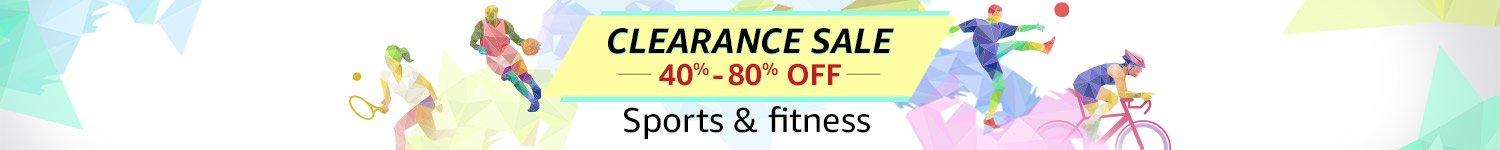 Clearance Sale 40% - 80% off