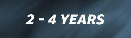 2 -4 years