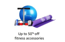 Up to 30% off fitness accessories