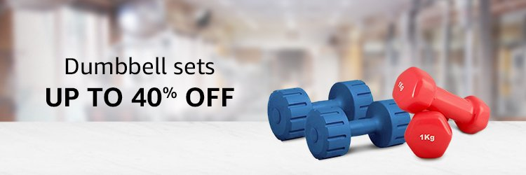 DUMBBELL SETS UP TO 40% OFF