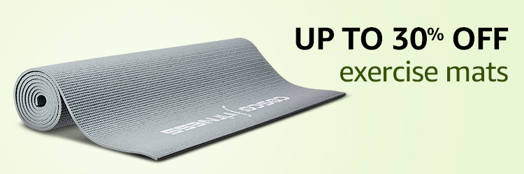 Up to 30% off exercise mats