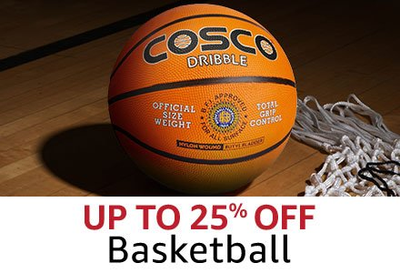Up to 25%  Basketball