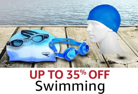 Up to 35%  Swimming