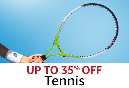 Up to 35% off tennis