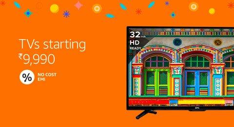 TVs starting Rs. 9990