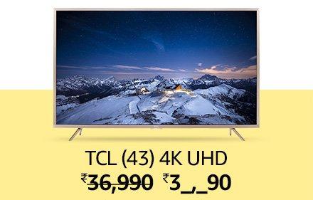 TCL (43) 4K UHD