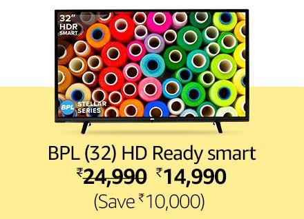 BPL Stellar 32 Inch HD Ready Smart LED TV