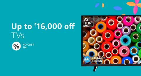 TVs up to 16,000 off