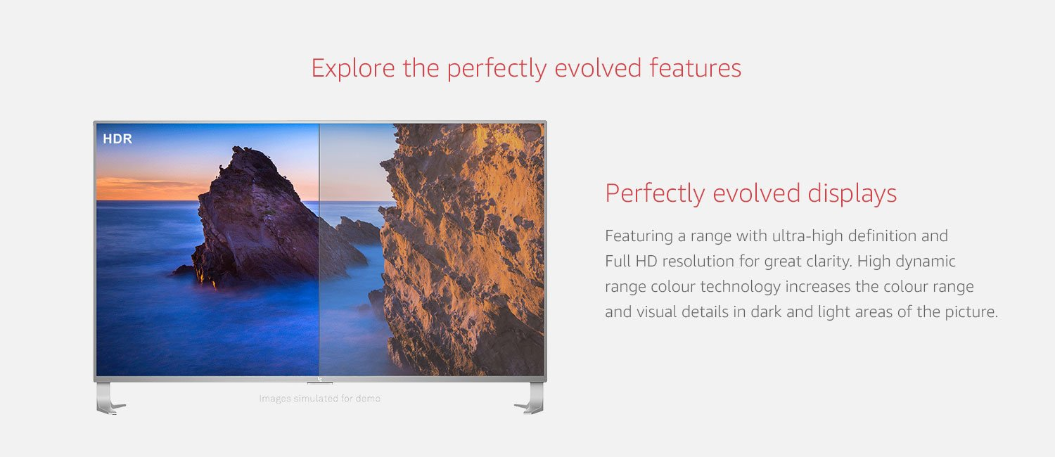 Explore perfectly evolved features