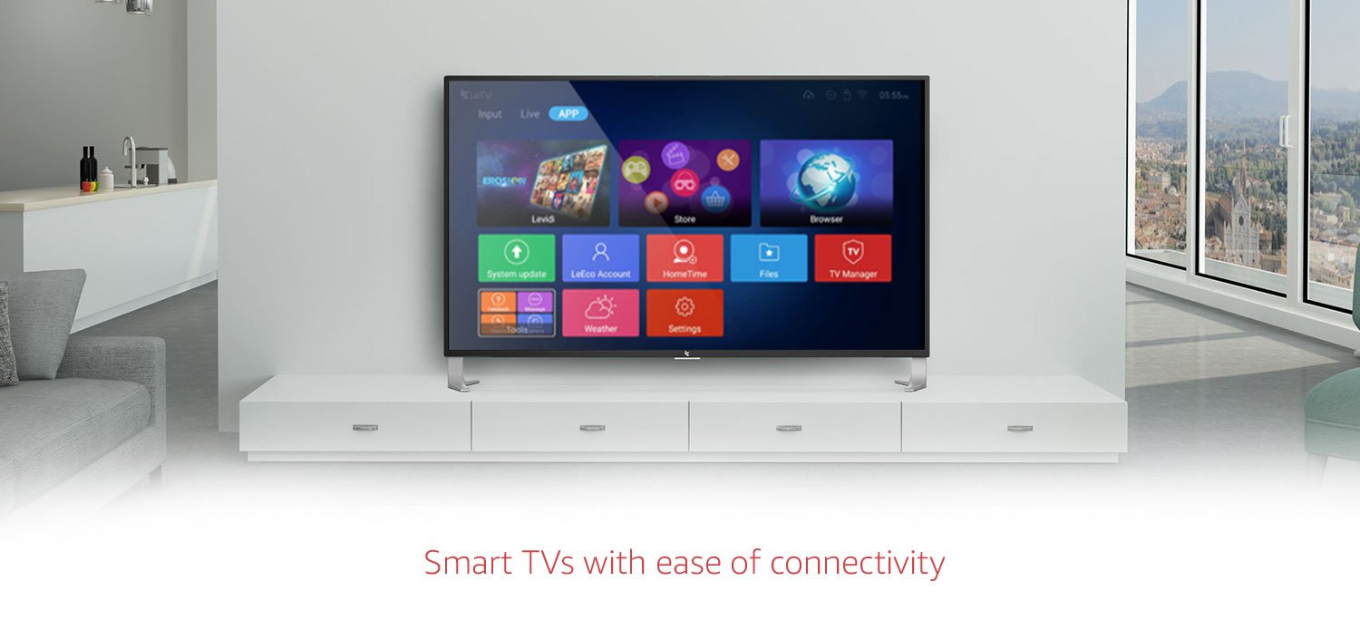 Smart TVs with ease of connectivity