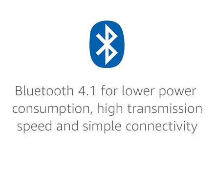 Bluetooth 4.1 for lower power consumption