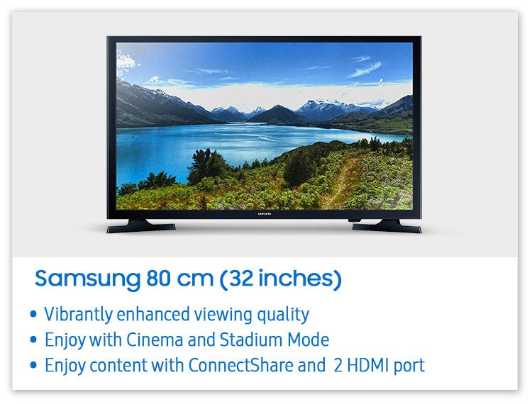 Samsung (32) HD TV
