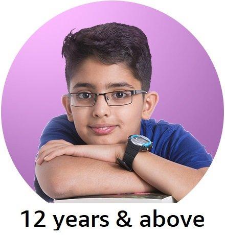 12+ years