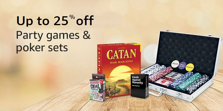Up to 25% off : Party games