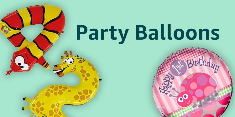 Shop Now Party Balloons