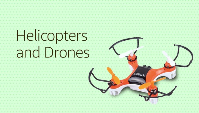Helicopters and Drones