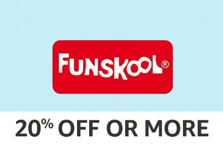 Funskool: 20% off or more