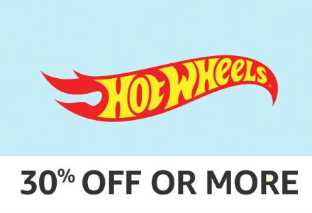 Hotwheels: 30% off or more