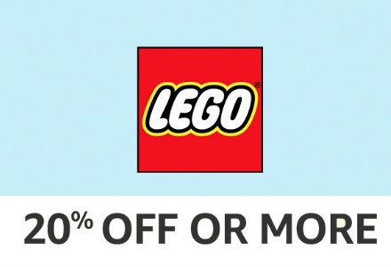 LEGO:20% off or more