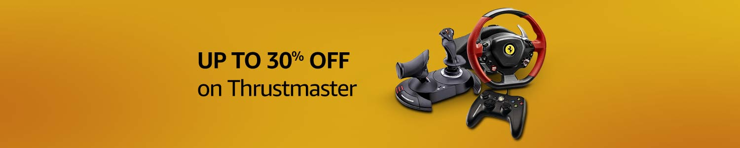 UP TO 30% OFF on Thrustmaster