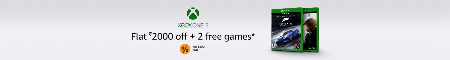 Flat Rs.2000 off + 2 free games