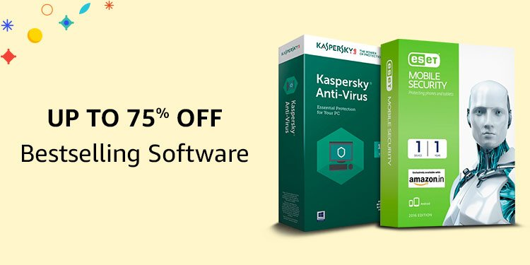 Up to 75% off: bestselling software
