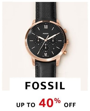 Fossil : Up to 40% Off
