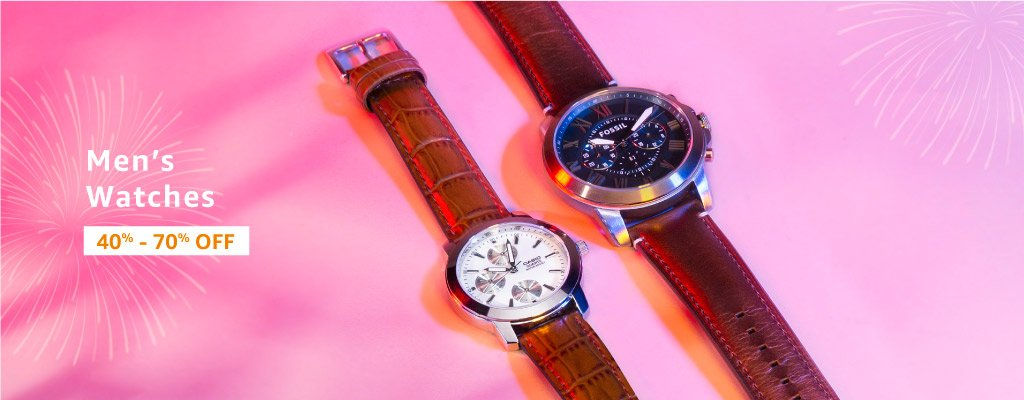 Watches: 40% - 70% off