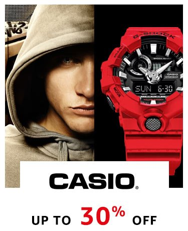 Casio : Up to 30% Off