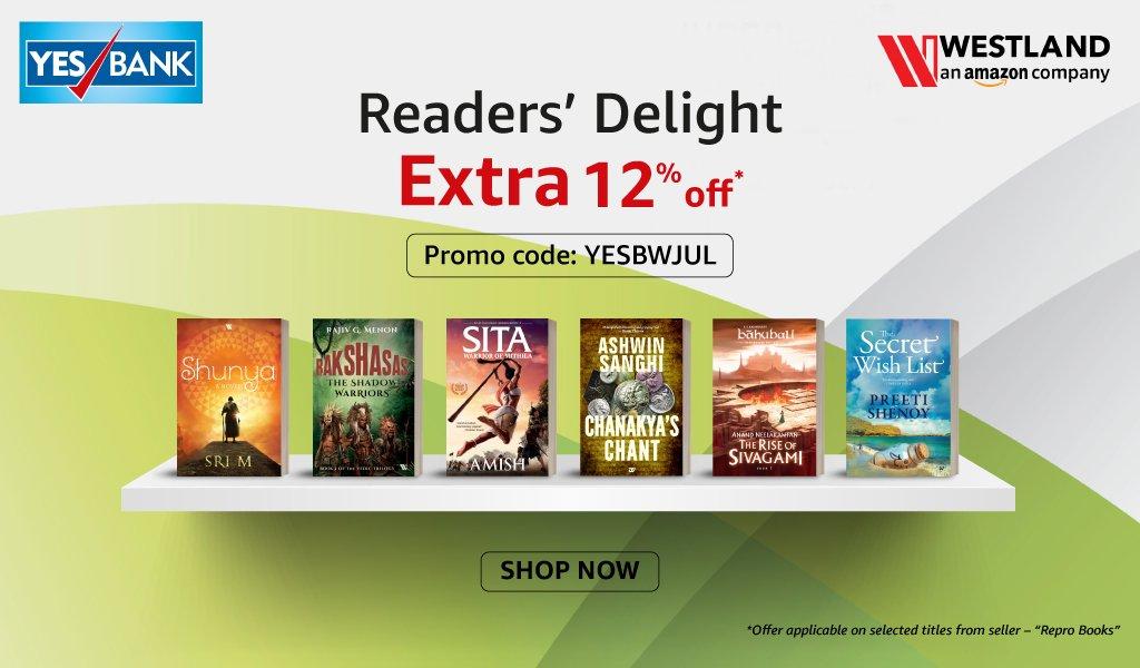 Westland Yes Bank Offer - Reader Delight