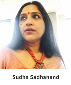 Editor Sudha Sadhanand