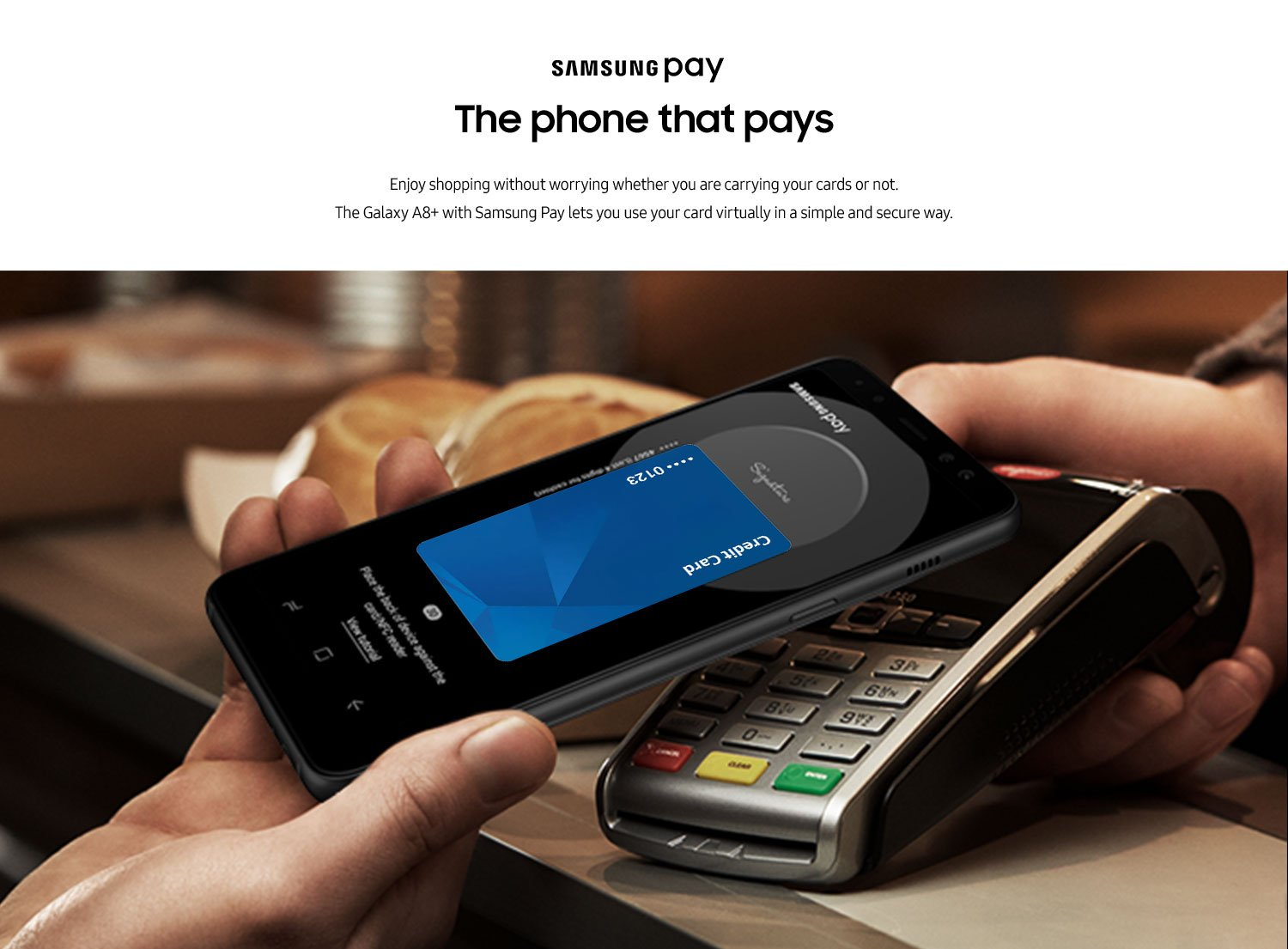 the phone that pays