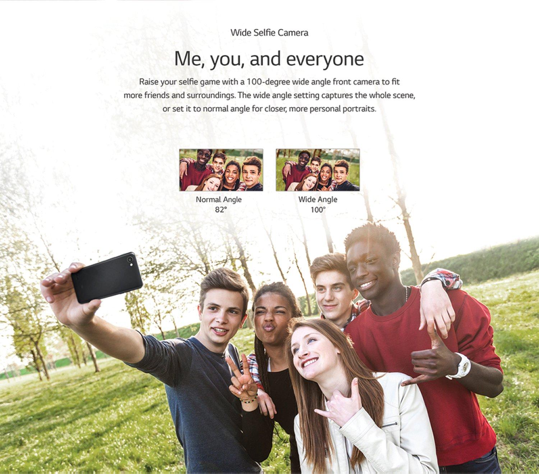 wide selfie camera
