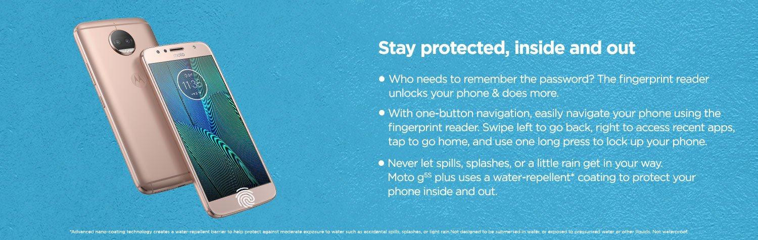 Stay protected