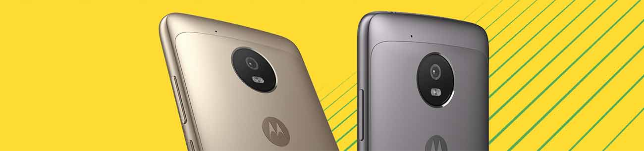 STYLE POINTS The new Moto G comes with a high-grade aluminum finish. Choose from Lunar Gray or Fine Gold colors.