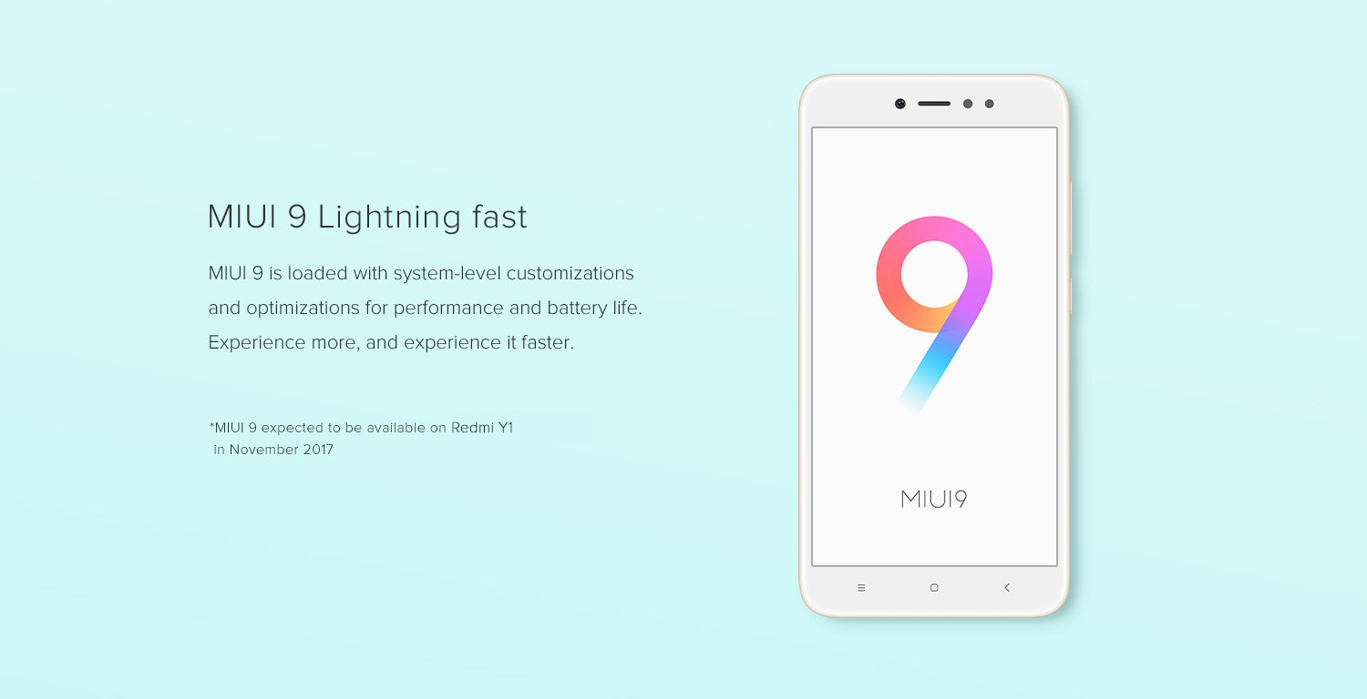 MIUI9 lighting fast