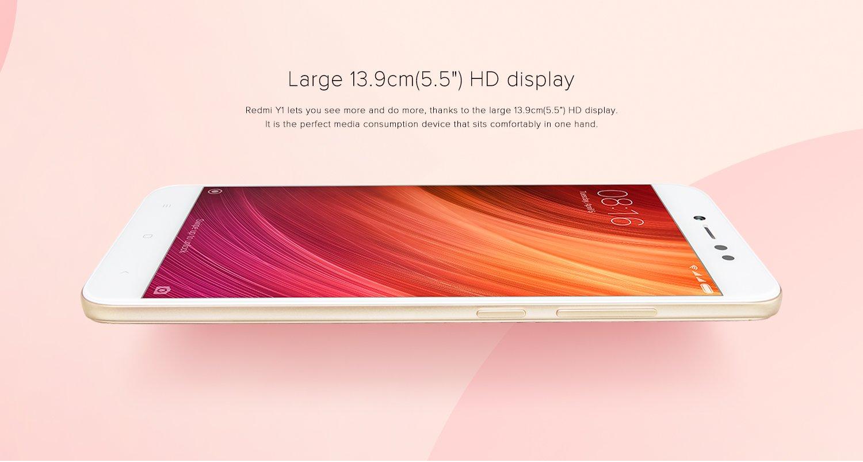 large 5.5'' HD display