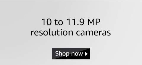10 to 11.9 MP cameras